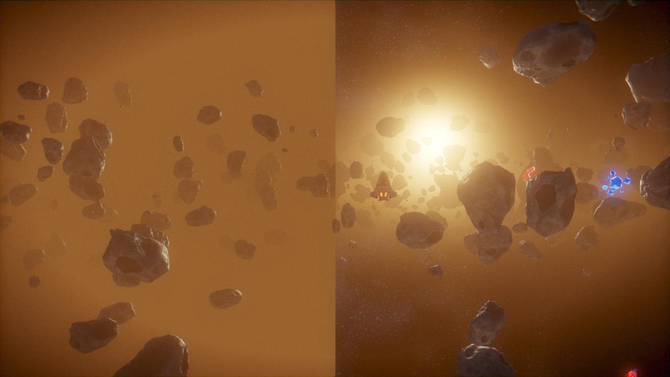 light scattering vs fog